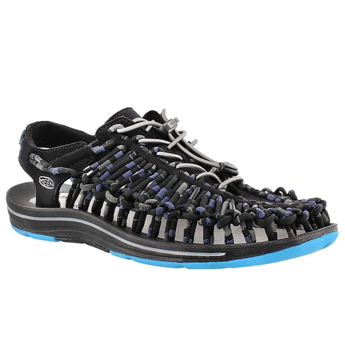 Mns Uneek Stripes blue fisherman sandal