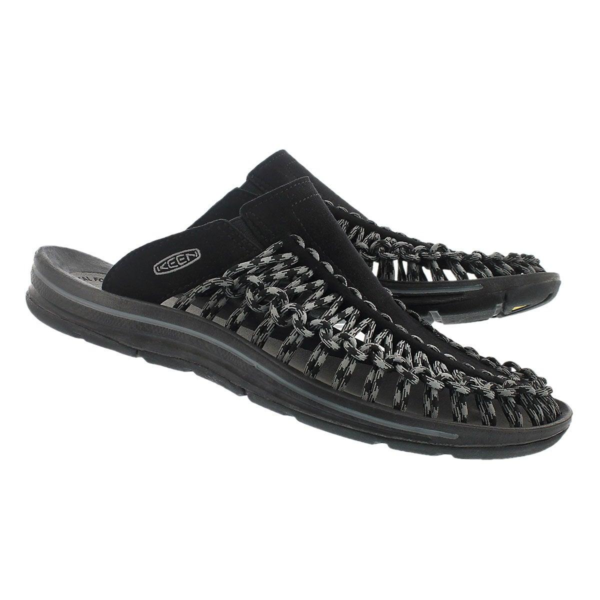 Sandale déc. Uneek Slide, noir/gris, hom
