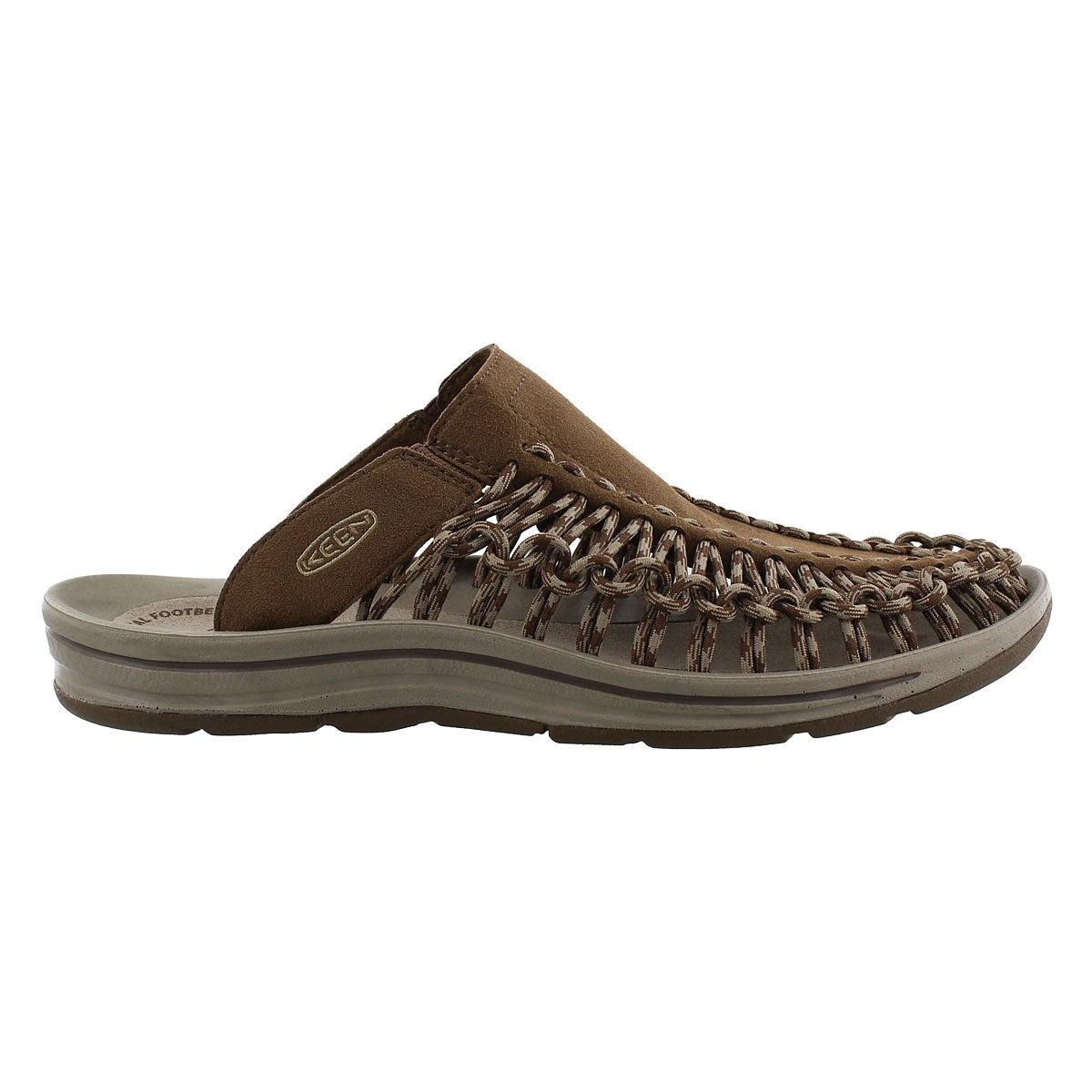 Mns Uneek Slide dk earth casual sandal