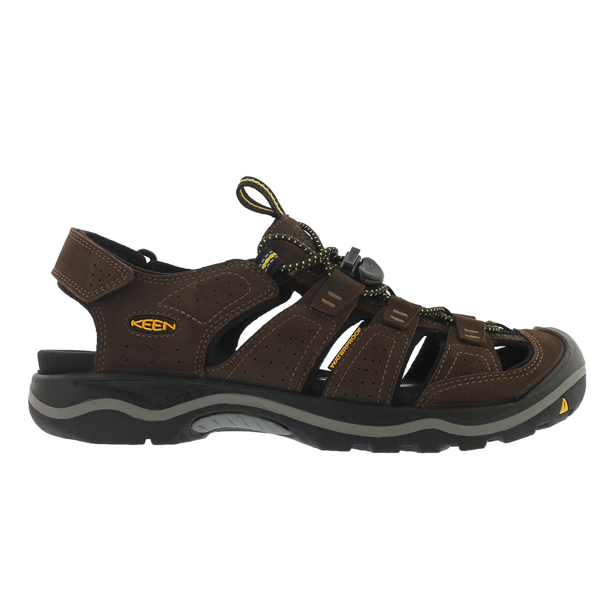 Mns Rialto bison leather sport sandal
