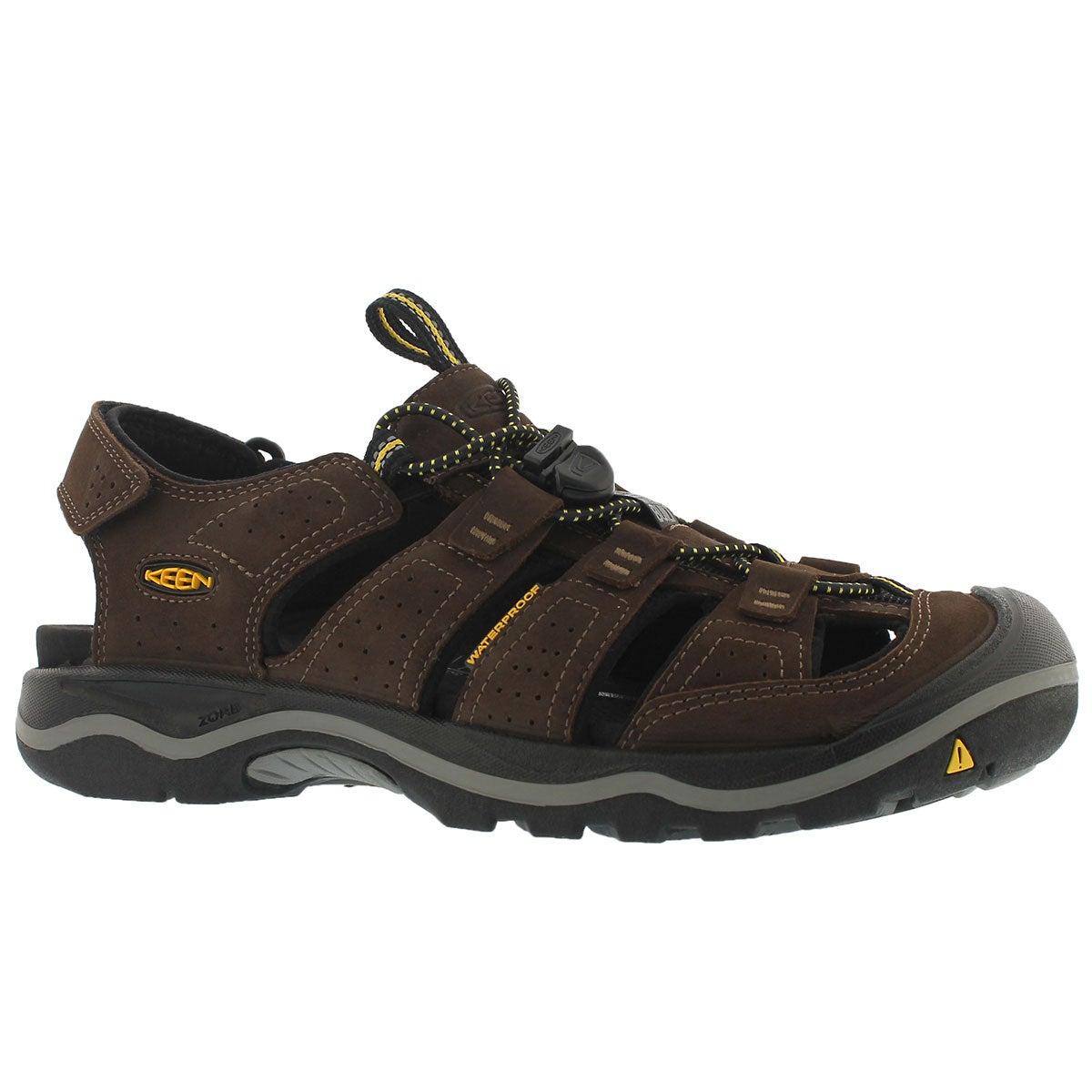 Men's RIALTO bison leather sport sandals
