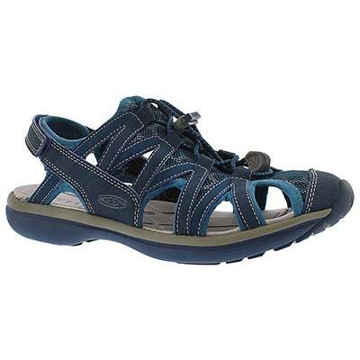 Keen Women's SAGE poseidon ink blue sport sandals