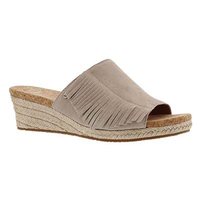 UGG Australia Women's DANES horchata wedge sandals