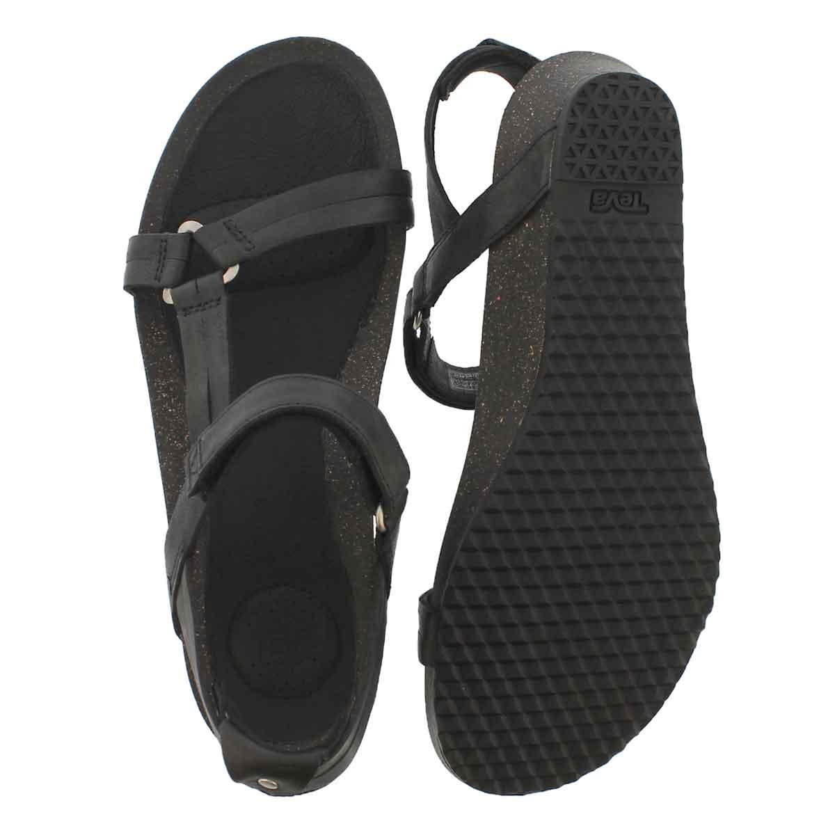 Lds Ysidro Universal black casual sandal
