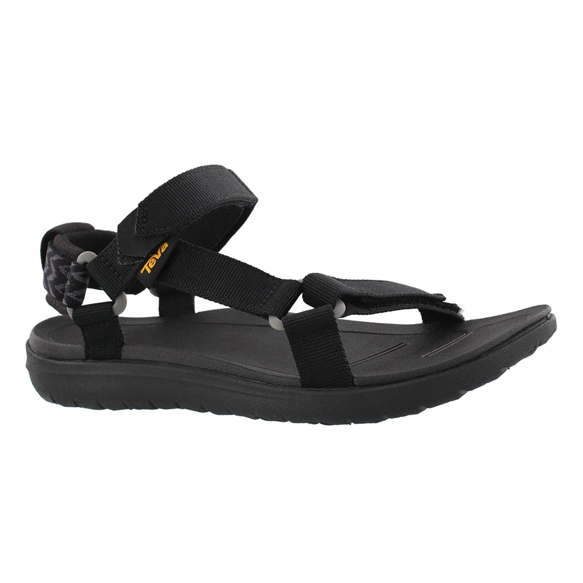 Lds Sanborn Universal black sport sandal