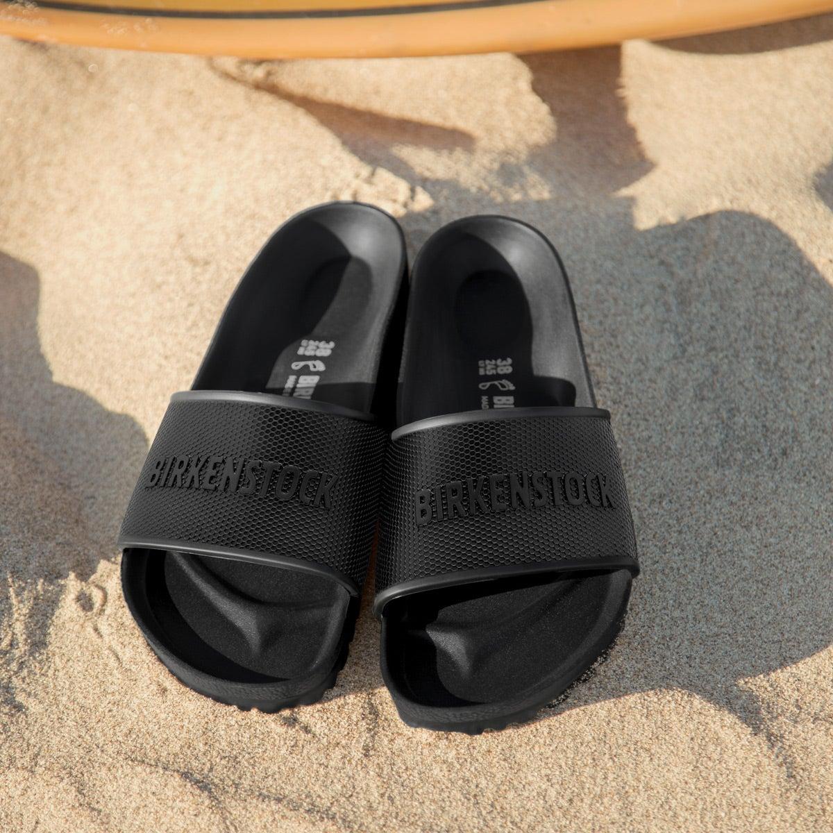 Mns Barbados EVA black slide sndl