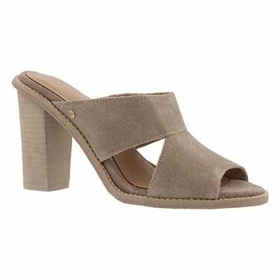 Lds Celia canvas slide dress sandal