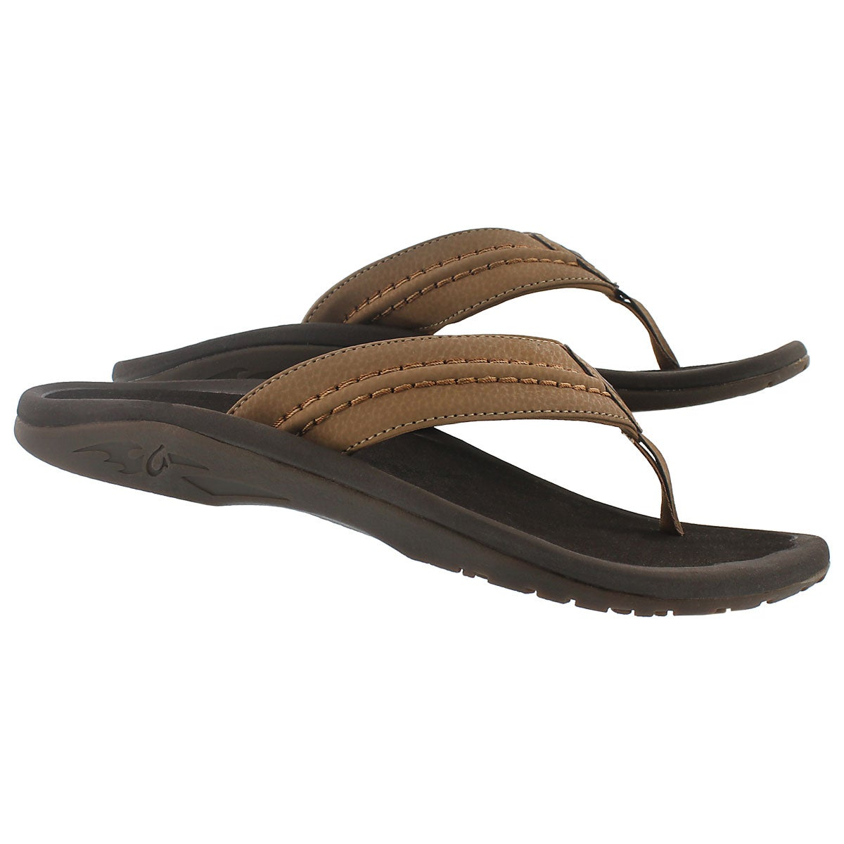 Sandale tong Hokua, havane, hommes