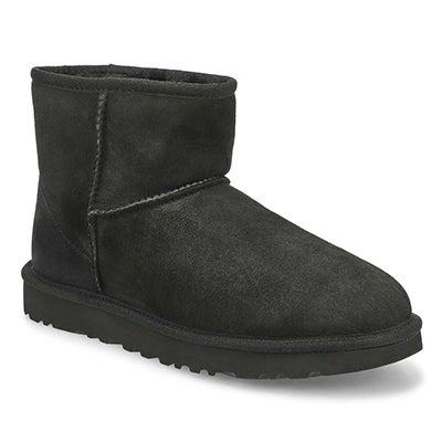 UGG Australia Women's CLASSIC MINI II black boots