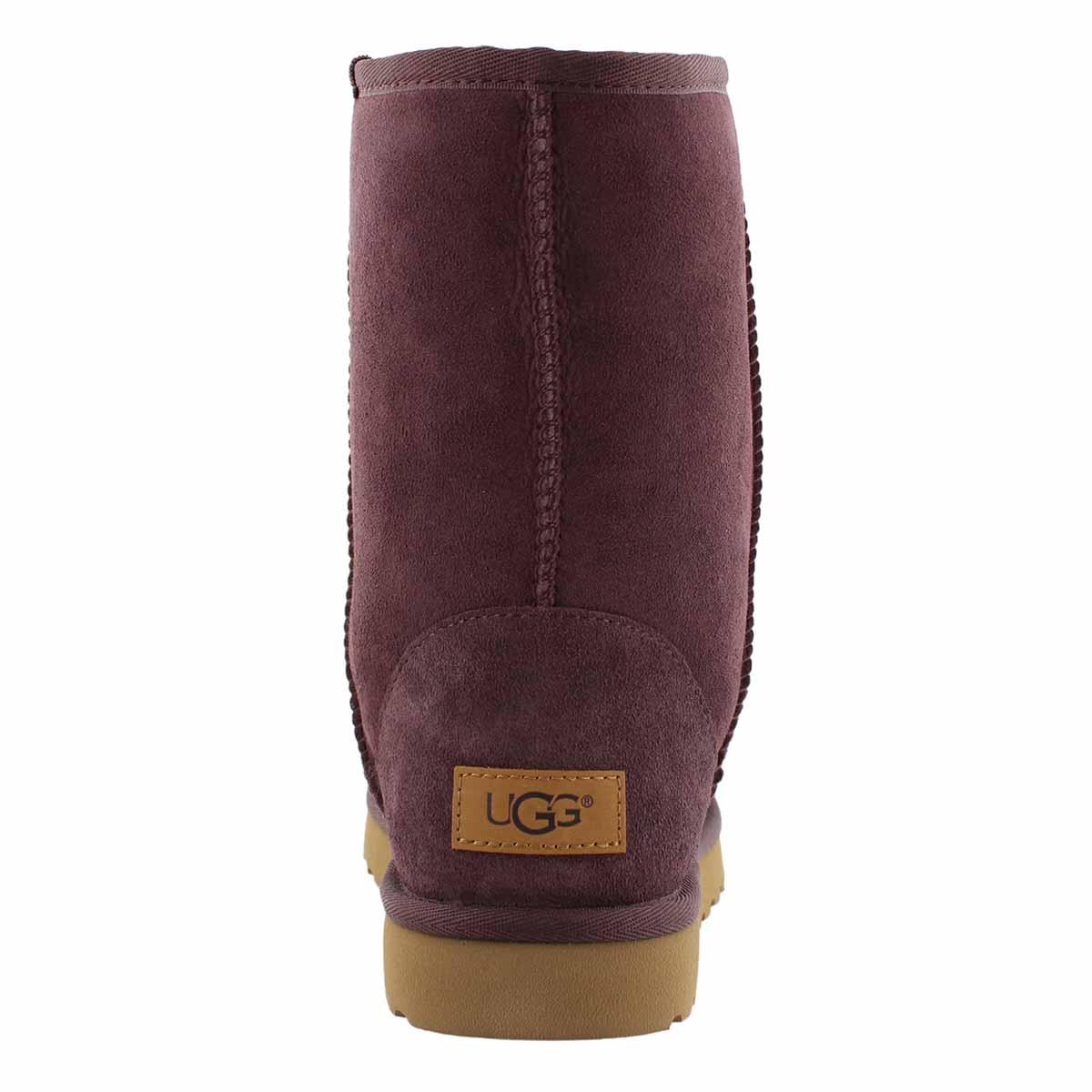 Lds Classic Short II port sheepskin boot