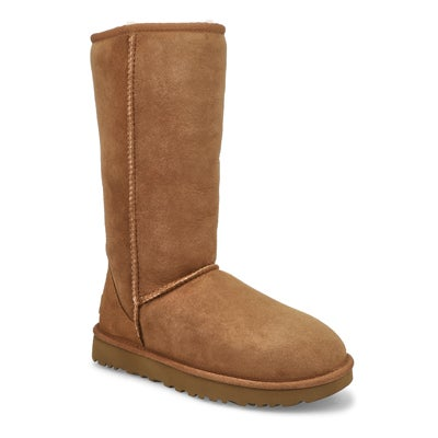 UGG Australia Women's CLASSIC TALL II chestnut sheepskin boots