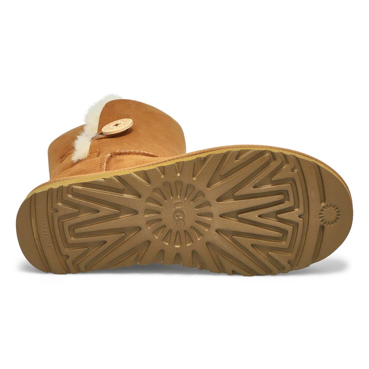 Lds Bailey Button II ches sheepskin boot