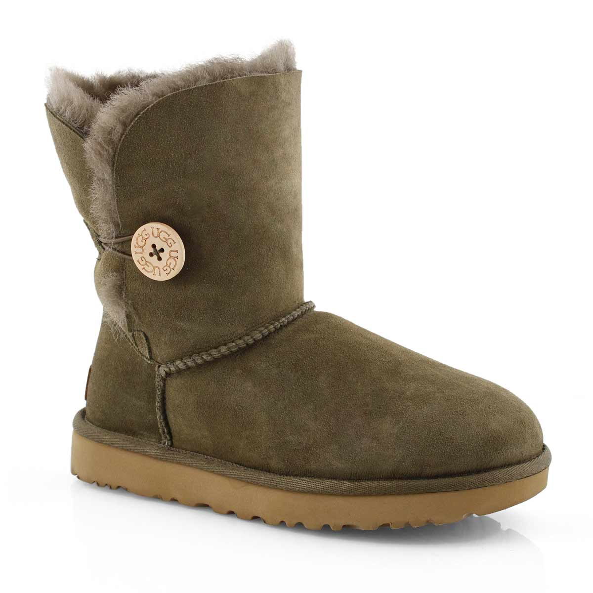 Lds Bailey Button II euca sheepskin boot