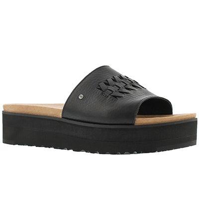 Lds Delaney black slide sandal