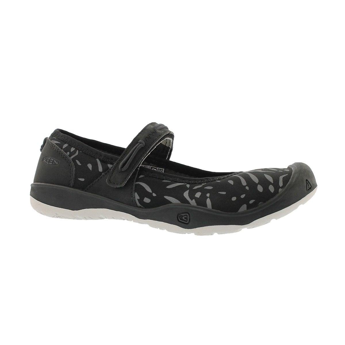 Grls Moxie black/vapor casual mary jane