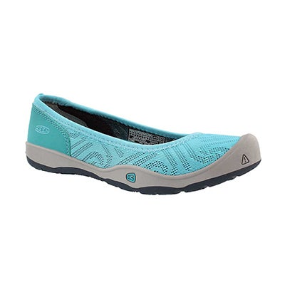 Grls Moxie radiance/viridian casual flat