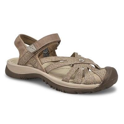Lds Rose brindle/shitake sport sandal