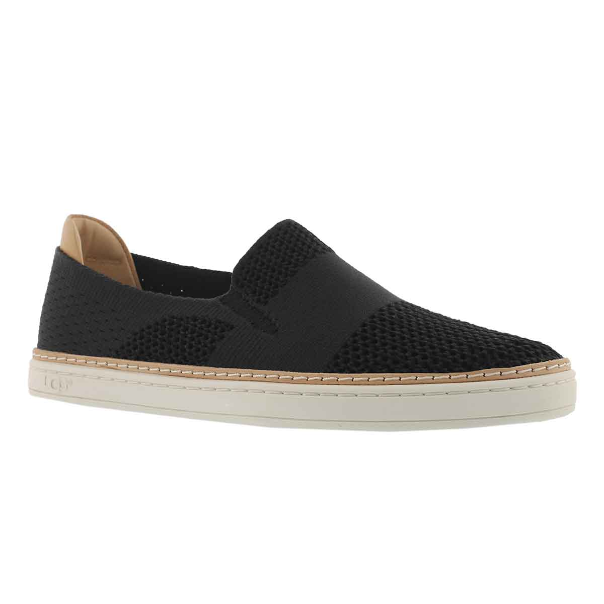 Women's SAMMY black casual slip on shoes