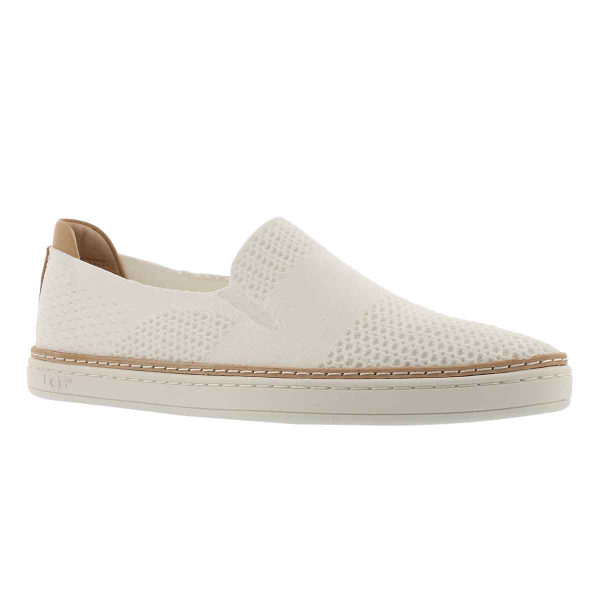85f83038393 UGG Women's SAMMY white casual slip on shoes | Softmoc.com