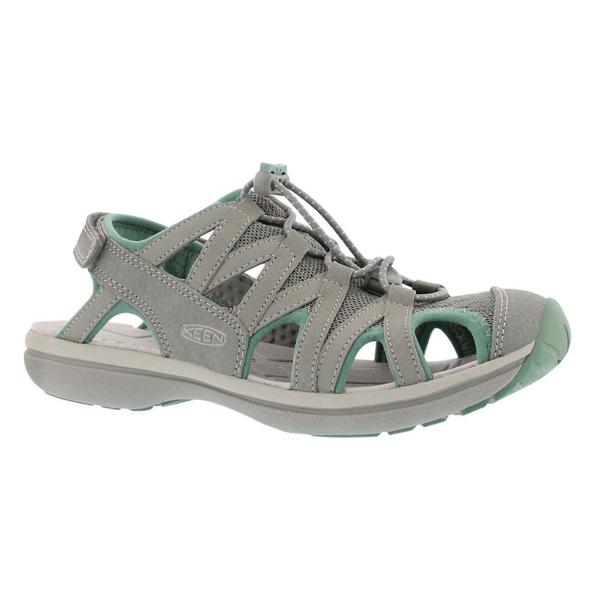 Women's SAGE neutral/grey sport sandals