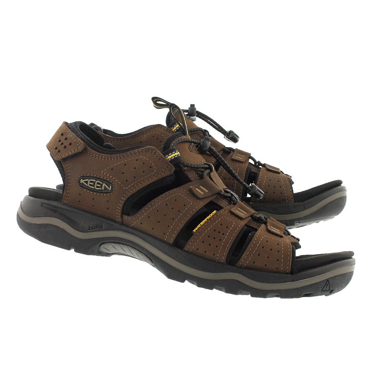 Mns Rialto OpenToe dk earth sport sandal