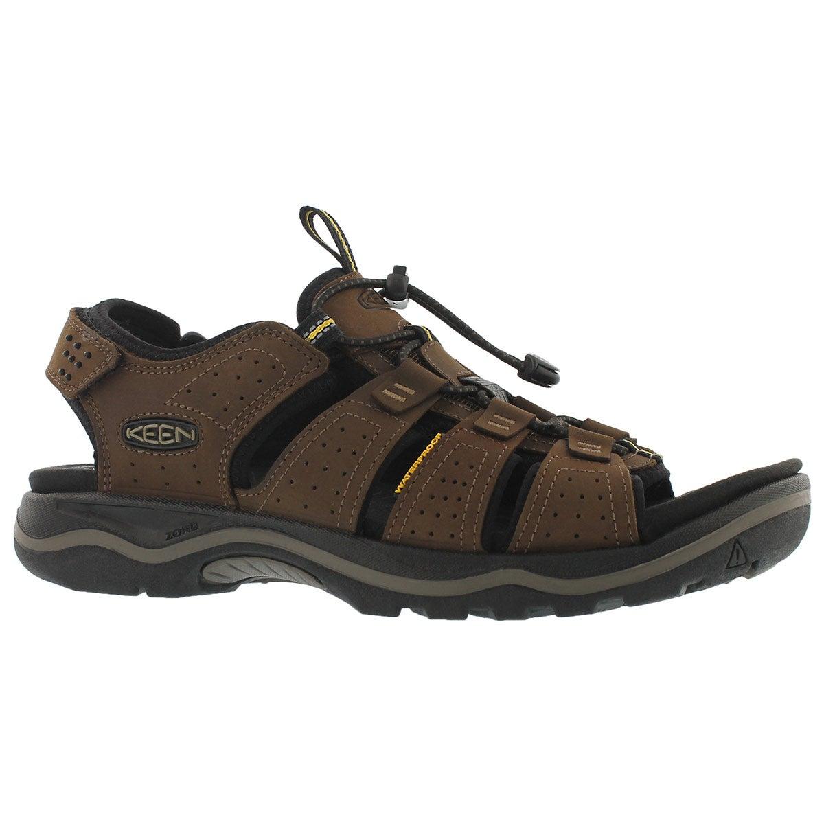 Men's RIALTO OPEN TOE dark earth sport sandals
