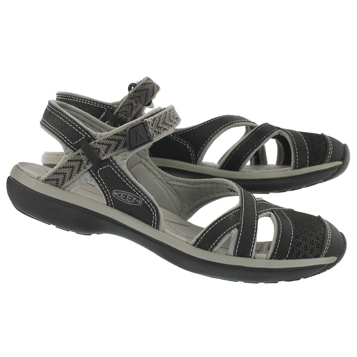 Lds Sage Ankle blk/blk sport sandal