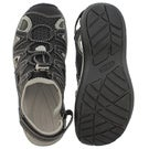 Lds Sage black/black sport sandal