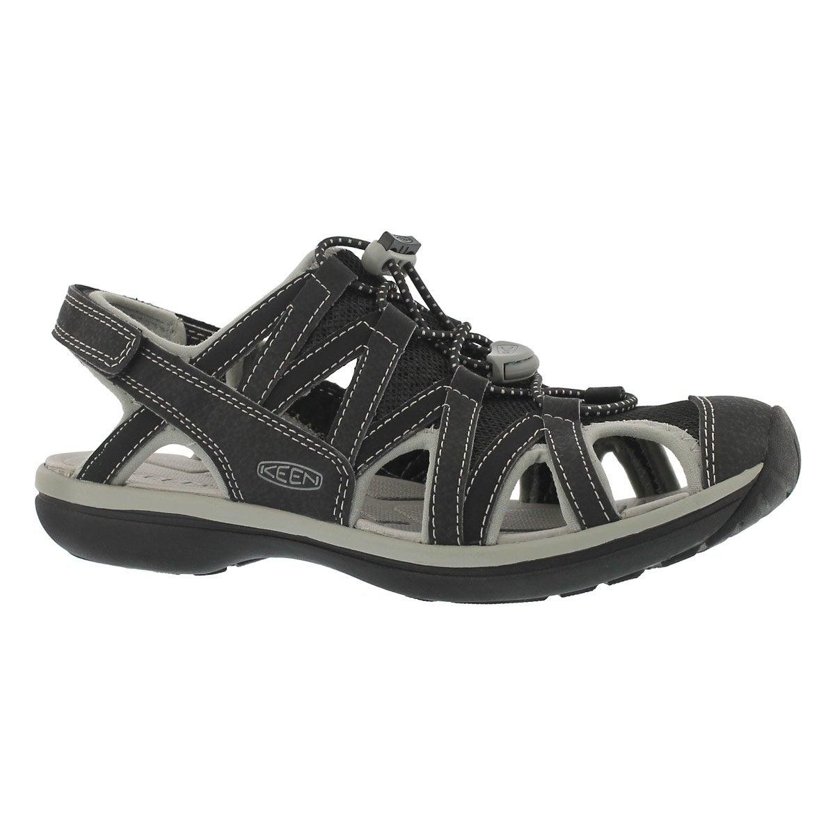 Women's SAGE black sport sandals