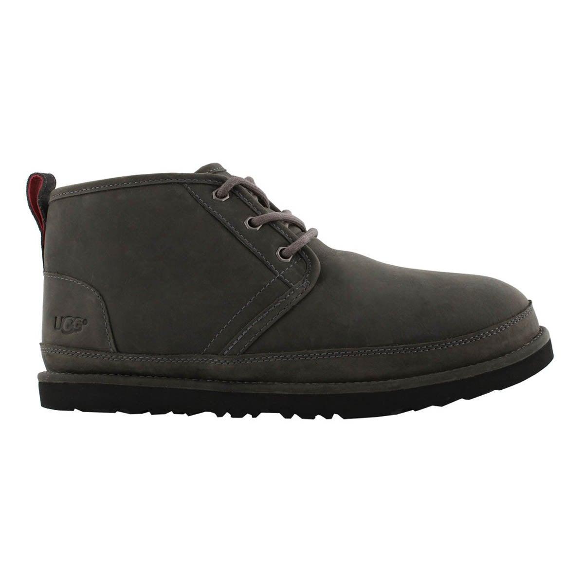 Mns Neumel charcoal wtpf chukka boot