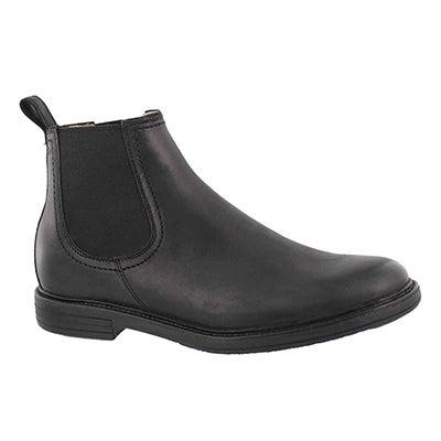 Mns Baldvin blk double gore chelsea boot