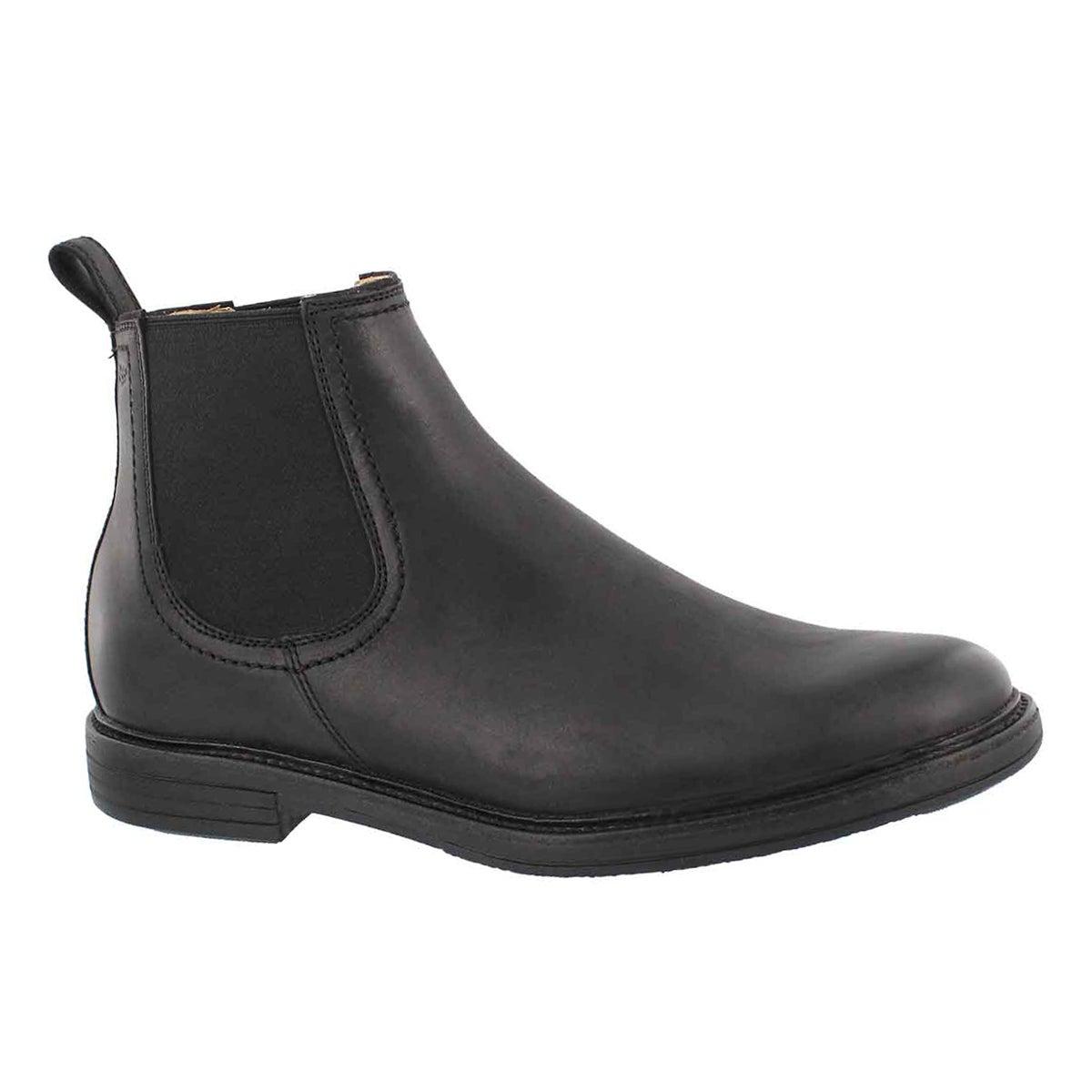 Men's BALDVIN black double gore chelsea boots