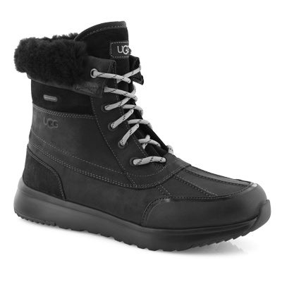 Mns Eliasson black lace up winter boot
