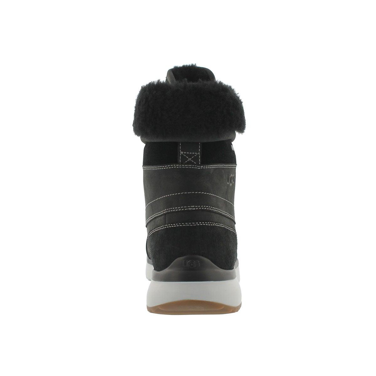 Mns Eliasson black lace up winter boot