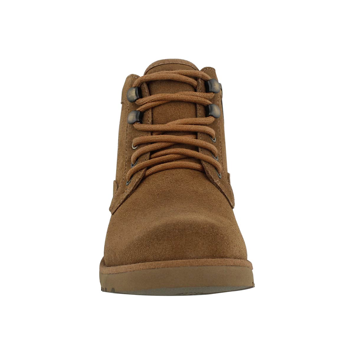Grls Banan chestnut lace up ankle boot