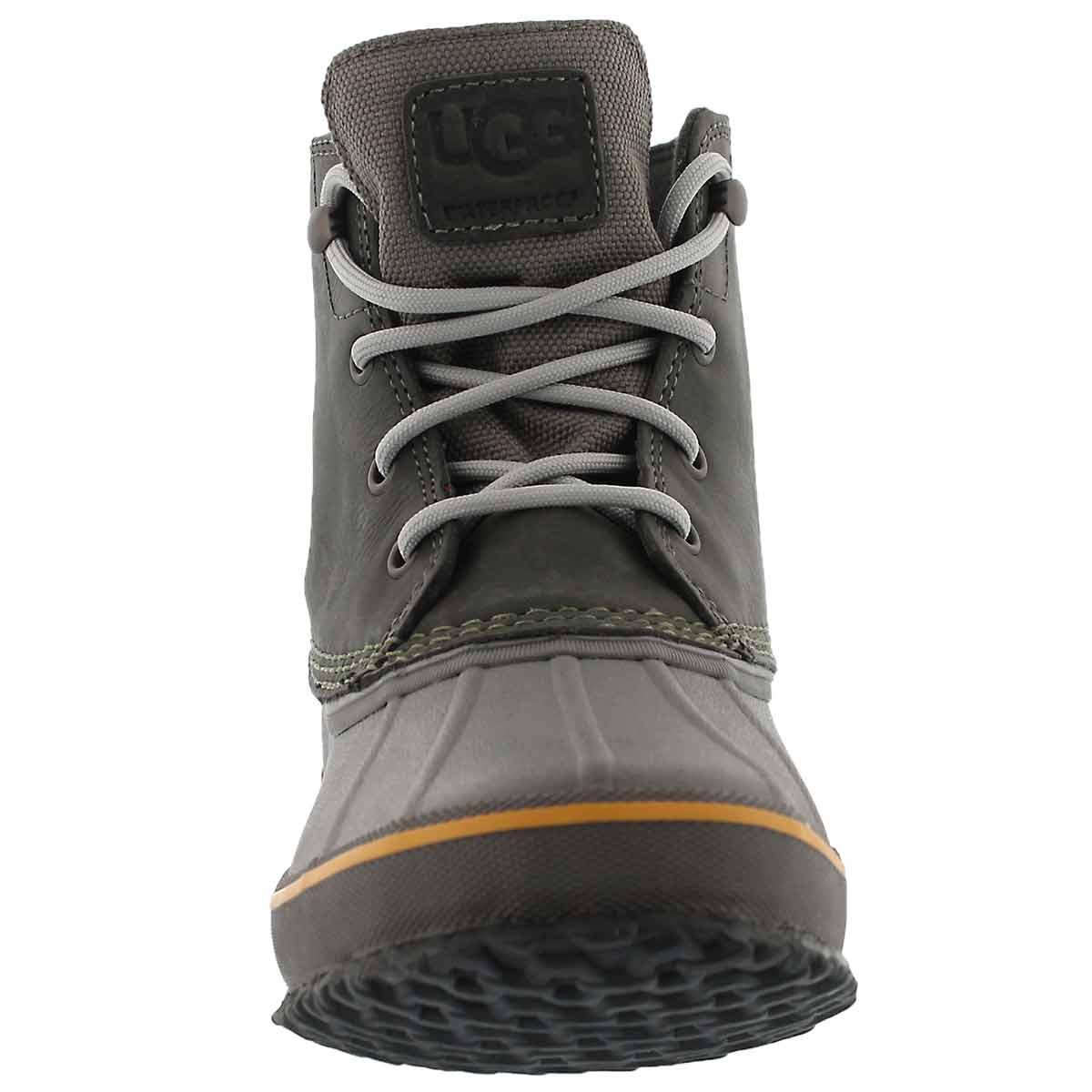 Mns Zetik metal lace up wtpf ankle boot