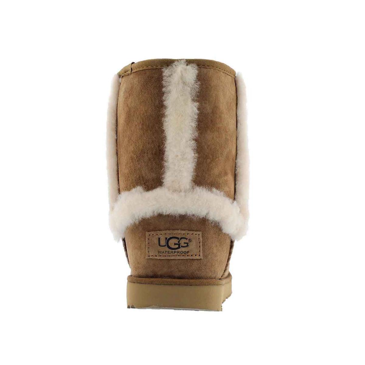 Grls Hadley II chestnut wtpf boot