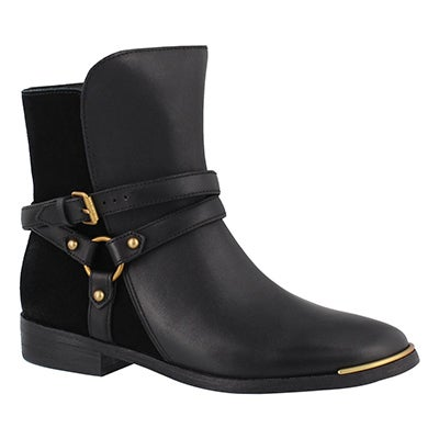 Lds Kelby black ankle boot