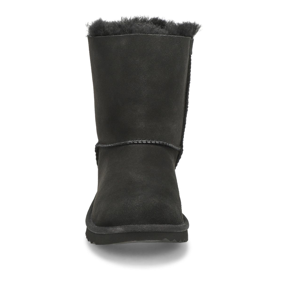 Grls Bailey Bow II black sheepskin boot