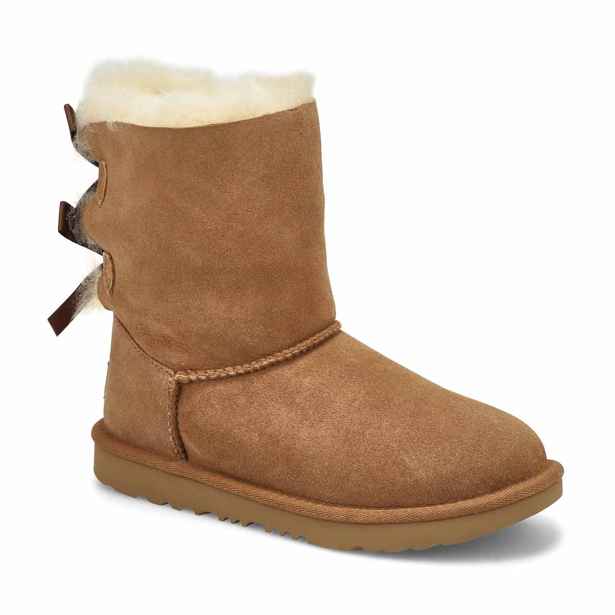Grls Bailey Bow II ches sheepskin boot
