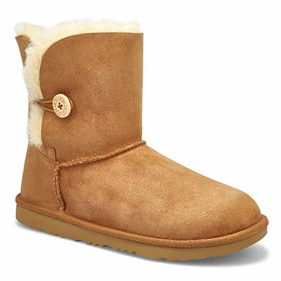 Grls Bailey Button II che sheepskin boot