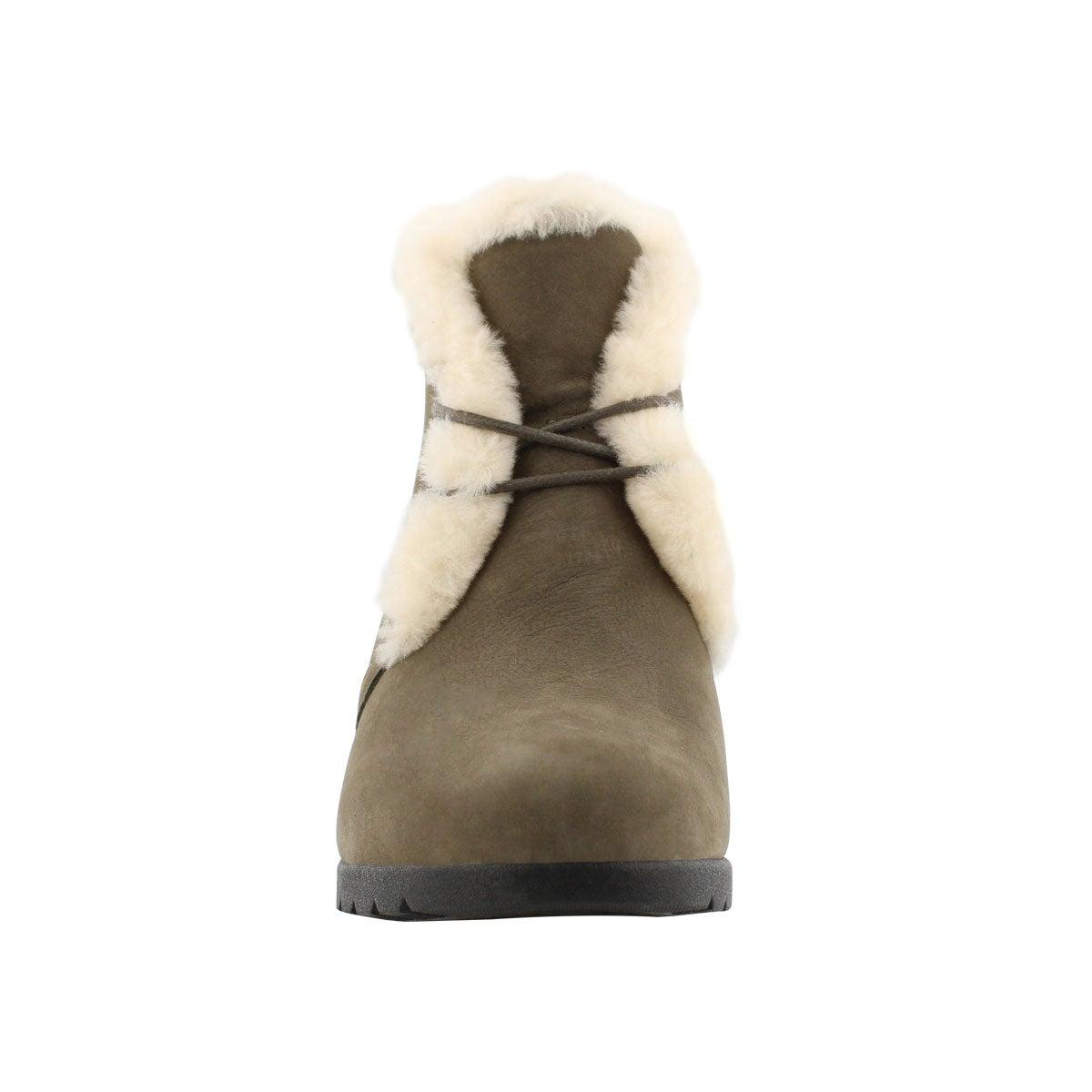 Lds Jeovana mystr laceup wtpf wedge boot