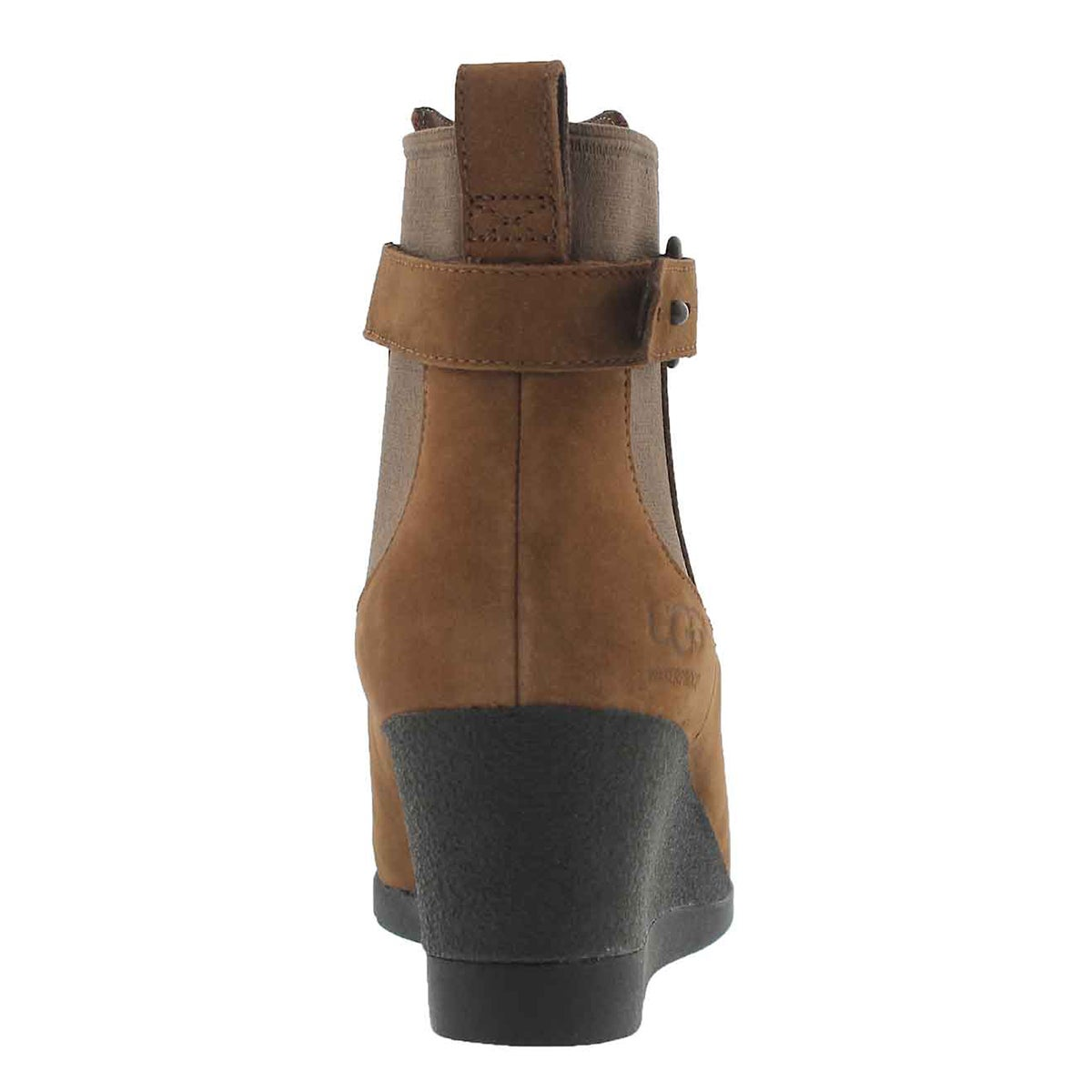 Lds Indra stout wtpf wedge ankle boot