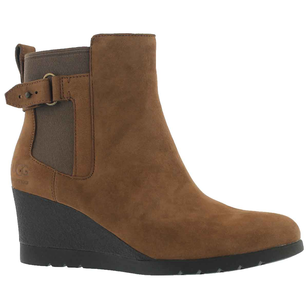 Women's INDRA stout waterproof wedge ankle boots