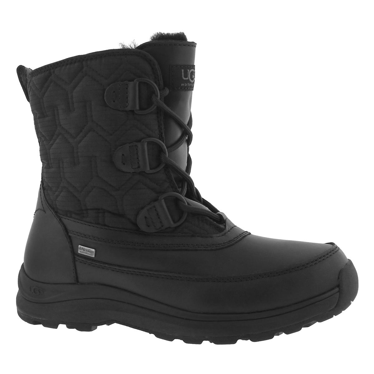 Lds Lachlan black wtpf winter boot