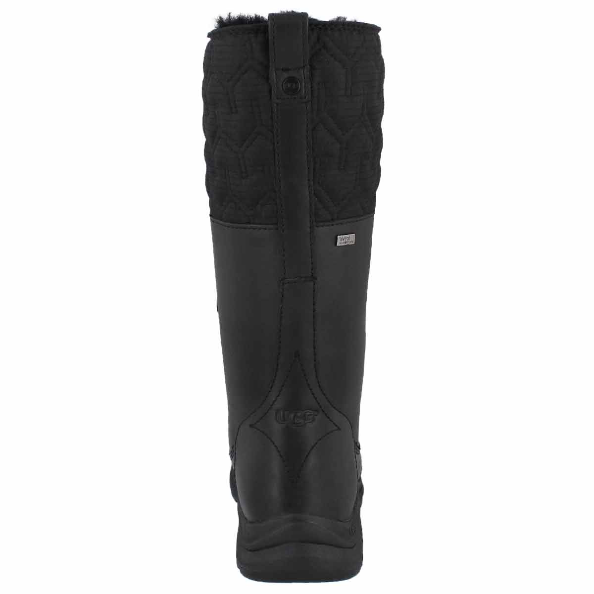 Lds Atlason black tall wtpf winter boot