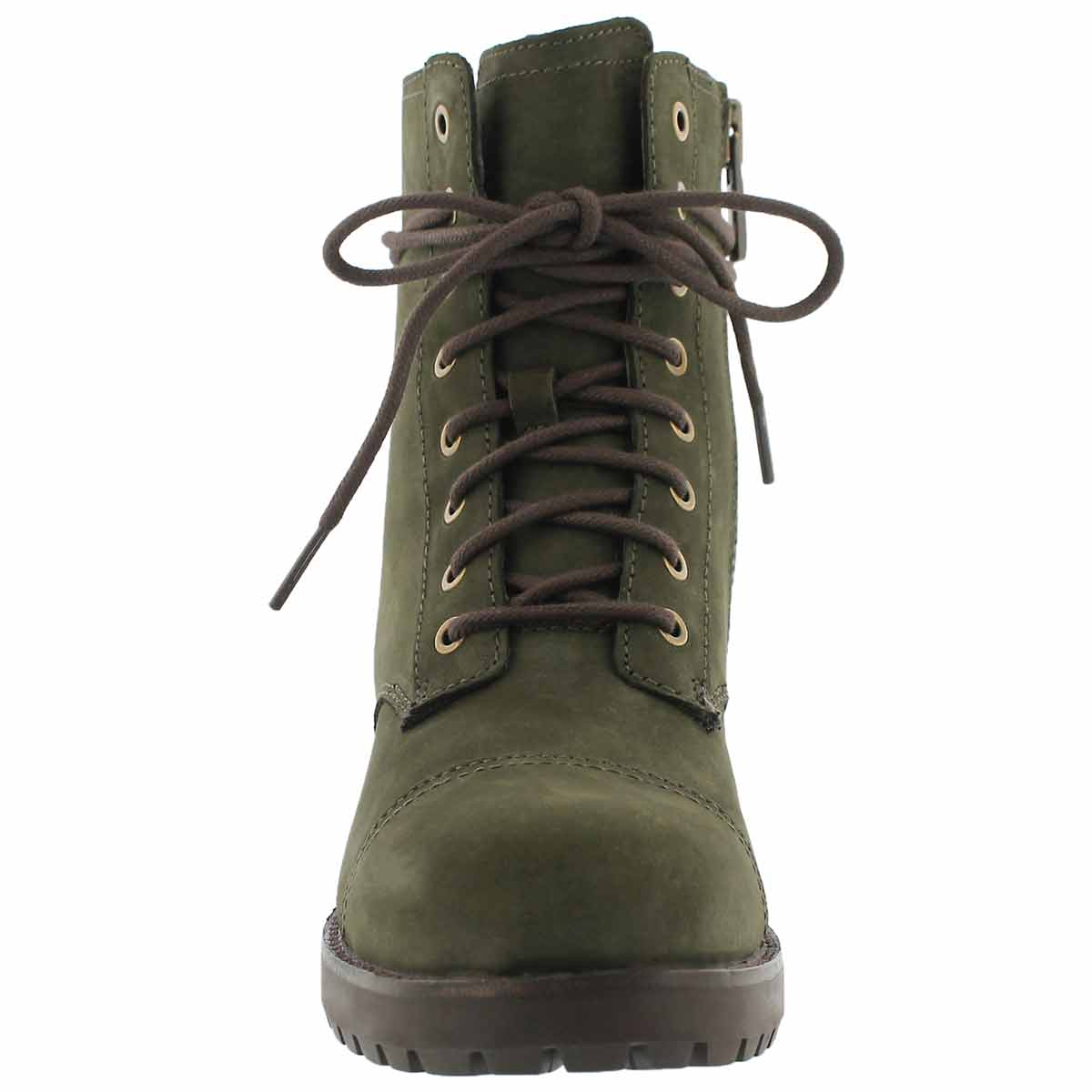 Lds Kilmer slate lace up combat boot