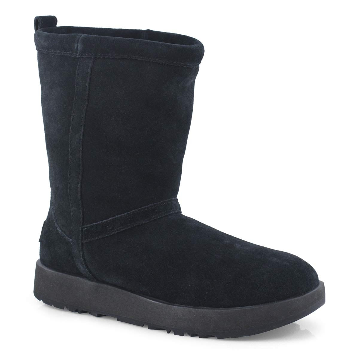 Lds Classic Short Waterproof black boot