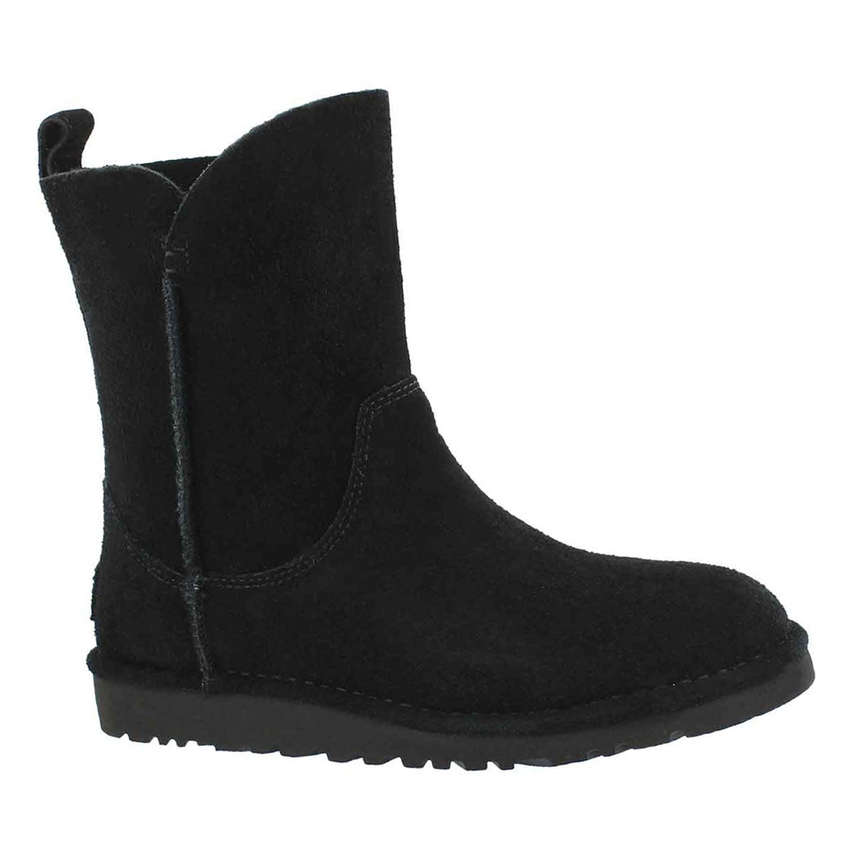 Lds Alida blk sheepskin boot