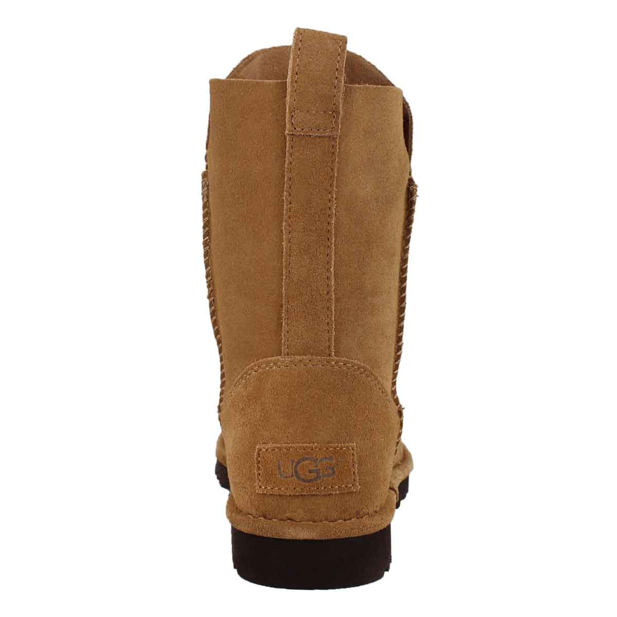 Lds Alida chestnut sheepskin boot